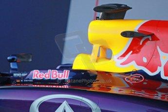 World © Octane Photographic Ltd. 2014 Formula 1 Winter Testing, Circuito de Velocidad, Jerez. Tuesday 27th January 2014. Day 1. Infiniti Red Bull Racing RB10 launch. Digital Ref: 0885cb1d9232