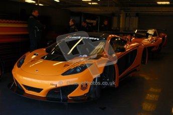 World © Octane Photographic Ltd. 21st March 2014. Silverstone - General Test Day. McLaren MP4-12C GT3.  Digital Ref : 0896cb1d3741