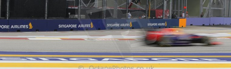 World © Octane Photographic Ltd. Saturday 20th September 2014, Singapore Grand Prix, Marina Bay. - Formula 1 Practice 3. Infiniti Red Bull Racing RB10 – Daniel Ricciardo. Digital Ref: