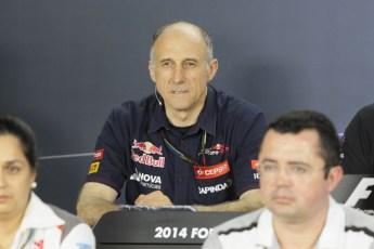 World © Octane Photographic Ltd. Friday 19th September 2014, Singapore Grand Prix, Marina Bay. - Formula 1 Team Personnel Press Conference - Franz Tost - Scuderia Toro Rosso. Digital Ref: