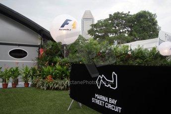World © Octane Photographic Ltd. Saturday 20th September 2014, Singapore Grand Prix, Marina Bay. Formula 1 Paddock. Digital Ref: 1122CB1D8170