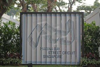 World © Octane Photographic Ltd. Wednesday 17th September 2014, Singapore Grand Prix, Marina Bay. Formula 1 Setup and atmosphere. Digital Ref: 1115CB1D6435