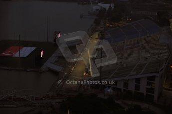 World © Octane Photographic Ltd. Wednesday 17th September 2014, Singapore Grand Prix, Marina Bay. Formula 1 Setup and atmosphere. Turns 17 and 18. Digital Ref: 1115LB1D8826