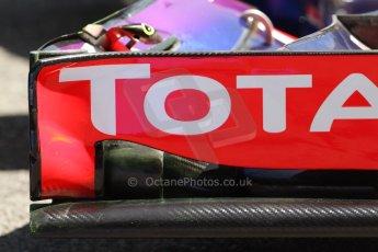 World © Octane Photographic Ltd. Friday 9th May 2014. Circuit de Catalunya - Spain - Formula 1 Practice 2 pitlane. Infiniti Red Bull Racing RB10 – Daniel Ricciardo. Digital Ref: