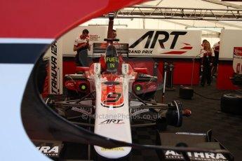 World © Octane Photographic Ltd. Friday 9th May 2014. GP2 Practice – Circuit de Catalunya, Barcelona, Spain. Takuya Izawa - ART Grand Prix. Digotal Ref : 0927cb7d8694