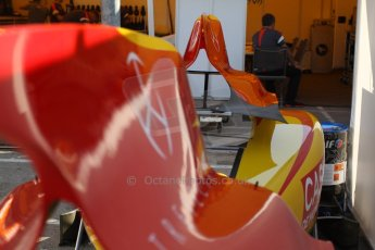 World © Octane Photographic Ltd. Friday 9th May 2014. GP2 Practice – Circuit de Catalunya, Barcelona, Spain. Racing Engineering airbox covers. Digital Ref : 0927cb7d8697