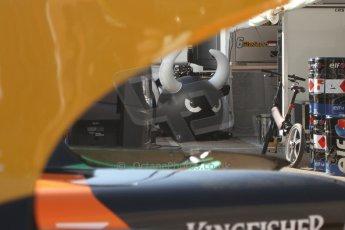World © Octane Photographic Ltd. Friday 9th May 2014. GP2 Practice – Circuit de Catalunya, Barcelona, Spain. Racing Engineering, Bad Torro. Digital Ref : 0927cb7d8700