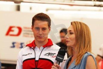 World © Octane Photographic Ltd. Friday 9th May 2014. GP2 Practice – Circuit de Catalunya, Barcelona, Spain. Stoffel Vandoorne - ART Grand Prix. Digital Ref :0927cb7d8753