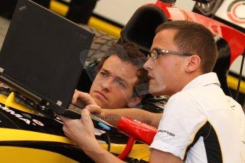 World © Octane Photographic Ltd. Friday 9th May 2014. GP2 Practice – Circuit de Catalunya, Barcelona, Spain. Jolyon Palmer - DAMS – Digital Ref : 0927cb7d8799