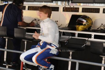 World © Octane Photographic Ltd. Friday 9th May 2014. GP2 Practice – Circuit de Catalunya, Barcelona, Spain. Johnny Cecotto - Trident. Digital Ref : 0927cb7d8976