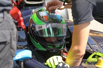 World © Octane Photographic Ltd. Friday 9th May 2014. GP2 Practice – Circuit de Catalunya, Barcelona, Spain. Conor Daly - Venezuela GP Lazarus. Digital Ref : 0927cb7d8999