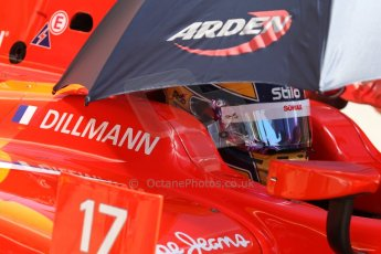 World © Octane Photographic Ltd. Friday 9th May 2014. GP2 Practice – Circuit de Catalunya, Barcelona, Spain. Tom Dillmann - Arden International. Digital Ref :0927cb7d9080