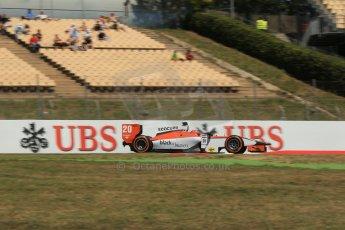 World © Octane Photographic Ltd. Friday 9th May 2014. GP2 Practice – Circuit de Catalunya, Barcelona, Spain. Daniel de Jong - MP Motorsport. Digital Ref : 0927lb1d3267