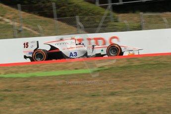 World © Octane Photographic Ltd. Friday 9th May 2014. GP2 Practice – Circuit de Catalunya, Barcelona, Spain. Simon Trummer - Rapax. Digital Ref : 0927lb1d3300