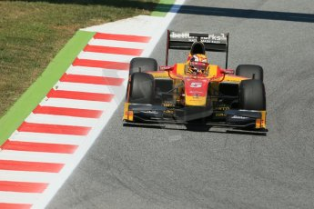 World © Octane Photographic Ltd. Friday 9th May 2014. GP2 Practice – Circuit de Catalunya, Barcelona, Spain. Raffaele Marciello - Racing Engineering. Digital Ref : 0927lb1d4627