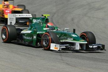 World © Octane Photographic Ltd. Friday 9th May 2014. GP2 Practice – Circuit de Catalunya, Barcelona, Spain. Alexander Rossi - EQ8 Caterham Racing. Digital Ref : 0927lb1d4700