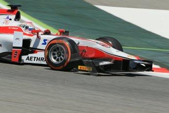 World © Octane Photographic Ltd. Friday 9th May 2014. GP2 Practice – Circuit de Catalunya, Barcelona, Spain. Takuya Izawa - ART Grand Prix. Digital Ref : 0927lb1d4763