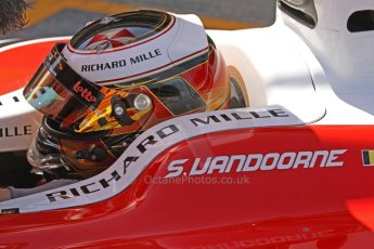World © Octane Photographic Ltd. Friday 9th May 2014. GP2 Qualifying – Circuit de Catalunya, Barcelona, Spain. Stoffel Vandoorne - ART Grand Prix. Digital Ref :