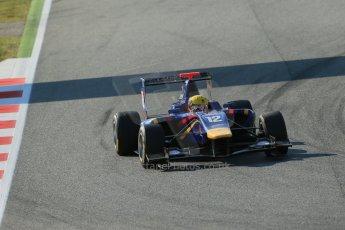 World © Octane Photographic Ltd. Friday 9th May 2014. GP3 Practice  – Circuit de Catalunya, Barcelona, Spain. Luis Sa Silva - Carlin. Digital Ref :