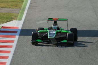 World © Octane Photographic Ltd. Friday 9th May 2014. GP3 Practice  – Circuit de Catalunya, Barcelona, Spain. Alfonso Celis jr - Status Grand Prix. Digital Ref :