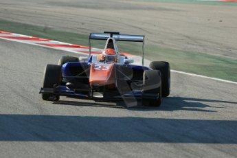 World © Octane Photographic Ltd. Friday 9th May 2014. GP3 Practice  – Circuit de Catalunya, Barcelona, Spain. Victor Carbone - Trident. Digital Ref :