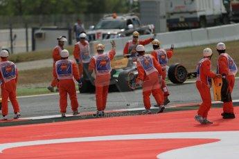 World © Octane Photographic Ltd. Saturday 10th May 2014. GP2 Race 1 – Circuit de Catalunya, Barcelona, Spain. Daniel Abt - Hilmer Motorsport. Digital Ref: