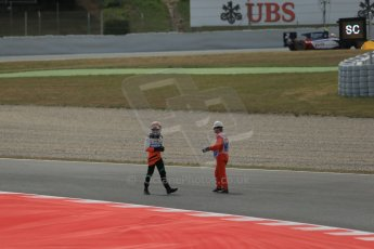 World © Octane Photographic Ltd. Saturday 10th May 2014. GP2 Race 1 – Circuit de Catalunya, Barcelona, Spain. Facu Regalia - Hilmer Motorsport. Digital Ref: