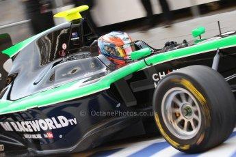 World © Octane Photographic Ltd. Saturday 10th May 2014. GP3 Qualifying – Circuit de Catalunya, Barcelona, Spain. Richie Stanaway - Status Grand Prix. Digital Ref :
