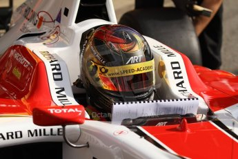 World © Octane Photographic Ltd. Saturday 10th May 2014. GP3 Qualifying – Circuit de Catalunya, Barcelona, Spain. Marvin Kirchhofer - ART Grand Prix. Digital Ref :