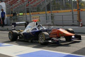 World © Octane Photographic Ltd. Saturday 10th May 2014. GP3 Qualifying – Circuit de Catalunya, Barcelona, Spain. Denis Nagulin - Trident. Digital Ref :