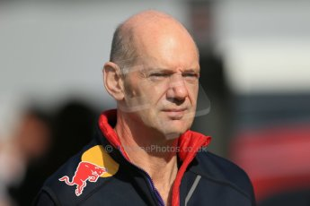 World © Octane Photographic Ltd. Saturday 10th May 2014. Circuit de Catalunya - Spain - Formula 1 Practice 3. Infiniti Red Bull Racing RB10 -  Adrian Newey . Digital Ref: 0933lb1d6573