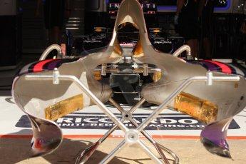 World © Octane Photographic Ltd. Saturday 10th May 2014. Circuit de Catalunya - Spain - Formula 1 Practice 3. Infiniti Red Bull Racing RB10 – Daniel Ricciardo. Digital Ref: 0935cb7d9591