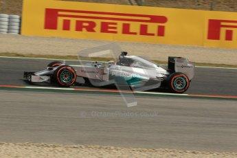 World © Octane Photographic Ltd. Saturday 10th May 2014. Circuit de Catalunya - Spain - Formula 1 Practice 3. Mercedes AMG Petronas F1 W05 Hybrid - Nico Rosberg. Digital Ref: 0935lb1d3518