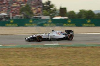 World © Octane Photographic Ltd. Saturday 10th May 2014. Circuit de Catalunya - Spain - Formula 1 Practice 3. Williams Martini Racing FW36 – Felipe Massa. Digital Ref: 0935lb1d3807