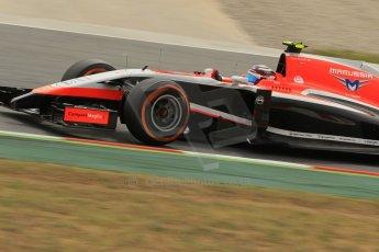 World © Octane Photographic Ltd. Saturday 10th May 2014. Circuit de Catalunya - Spain - Formula 1 Practice 3. Marussia F1 Team MR03 - Max Chilton. Digital Ref: 0935lb1d3910