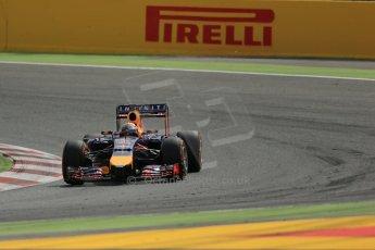 World © Octane Photographic Ltd. Saturday 10th May 2014. Circuit de Catalunya - Spain - Formula 1 Practice 3. Infiniti Red Bull Racing RB10 - Sebastian Vettel. Digital Ref: 0935lb1d7164