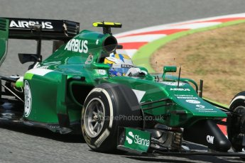 World © Octane Photographic Ltd. Saturday 10th May 2014. Circuit de Catalunya - Spain - Formula 1 Qualifying. Caterham F1 Team CT05 – Marcus Ericsson. Digital Ref: 0936lb1d7583