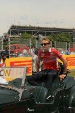 World © Octane Photographic Ltd. Sunday 11th May 2014. Circuit de Catalunya - Spain - Formula 1 Driver Parade. Marussia F1 Team MR03 - Max Chilton. Digital Ref: