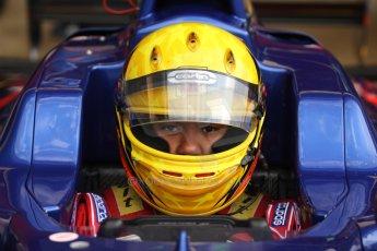 World © Octane Photographic Ltd. Sunday 11th May 2014. GP3 Race 2 – Circuit de Catalunya, Barcelona, Spain. Luis Sa Silva - Carlin. Digital Ref : 0940cb7d0473