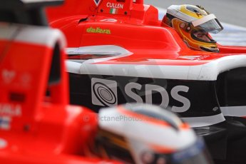 World © Octane Photographic Ltd. Sunday 11th May 2014. GP3 Race 2 – Circuit de Catalunya, Barcelona, Spain. Ryan Cullen - Marussia Manor Racing. Digital Ref : 0940cb7d0476