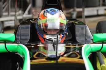 World © Octane Photographic Ltd. Sunday 11th May 2014. GP3 Race 2 – Circuit de Catalunya, Barcelona, Spain. Richie Stanaway - Status Grand Prix. Digital Ref : 0940cb7d0516