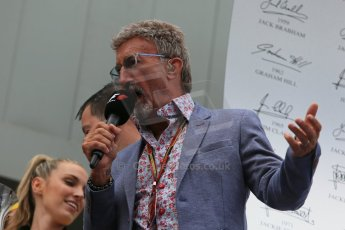 World © Octane Photographic Ltd. Thursday 8th May 2014. Circuit de Catalunya - Spain - Formula 1 Podium. Eddie Jordan Digital Ref: