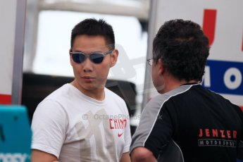 World © Octane Photographic Ltd. Thursday 8th May 2014. GP3 Paddock – Circuit de Catalunya, Barcelona, Spain. Adderly Fong - Jenzer Motorsport. Digital Ref : 0923cb1d2878