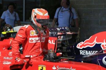 World © Octane Photographic Ltd. Saturday 1st November 2014, F1 USA GP, Austin, Texas, Circuit of the Americas (COTA) - Qualifying. Scuderia Ferrari F14T – Kimi Raikkonen. Digital Ref: 1149LB1D0352
