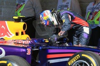 World © Octane Photographic Ltd. Saturday 1st November 2014, F1 USA GP, Austin, Texas, Circuit of the Americas (COTA) - Qualifying. Infiniti Red Bull Racing RB10 – Daniel Ricciardo. Digital Ref: 1149LB1D0362