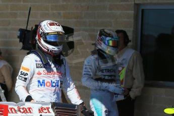 World © Octane Photographic Ltd. Saturday 1st November 2014, F1 USA GP, Austin, Texas, Circuit of the Americas (COTA) - Qualifying. McLaren Mercedes MP4/29 – Kevin Magnussen. Digital Ref: 1149LB1D0414