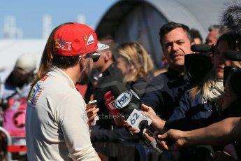 World © Octane Photographic Ltd. Saturday 1st November 2014, F1 USA GP, Austin, Texas, Circuit of the Americas (COTA) - Qualifying. Scuderia Ferrari F14T - Fernando Alonso. Digital Ref: 1149LB1D0521