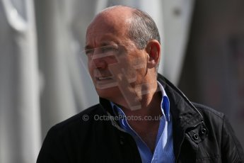 World © Octane Photographic Ltd. Sunday 2nd November 2014, F1 USA GP, Austin, Texas, Circuit of the Americas (COTA) - Paddock & Atmosphere. McLaren Mercedes Ron Dennis. Digital Ref: 1150LB1D0833