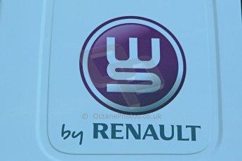 World © Octane Photographic Ltd. World Series by Renault collective test, Jerez de la Frontera, March 24th 2014. World Series by Renault logo. Digital Ref :  0897cb1d4437
