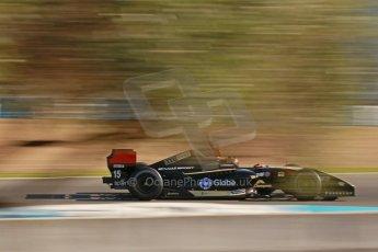 World © Octane Photographic Ltd. World Series by Renault collective test, Jerez de la Frontera, March 25th 2014. Lotus – Marlon Stockinger. Digital Ref : 0898cb1d6749